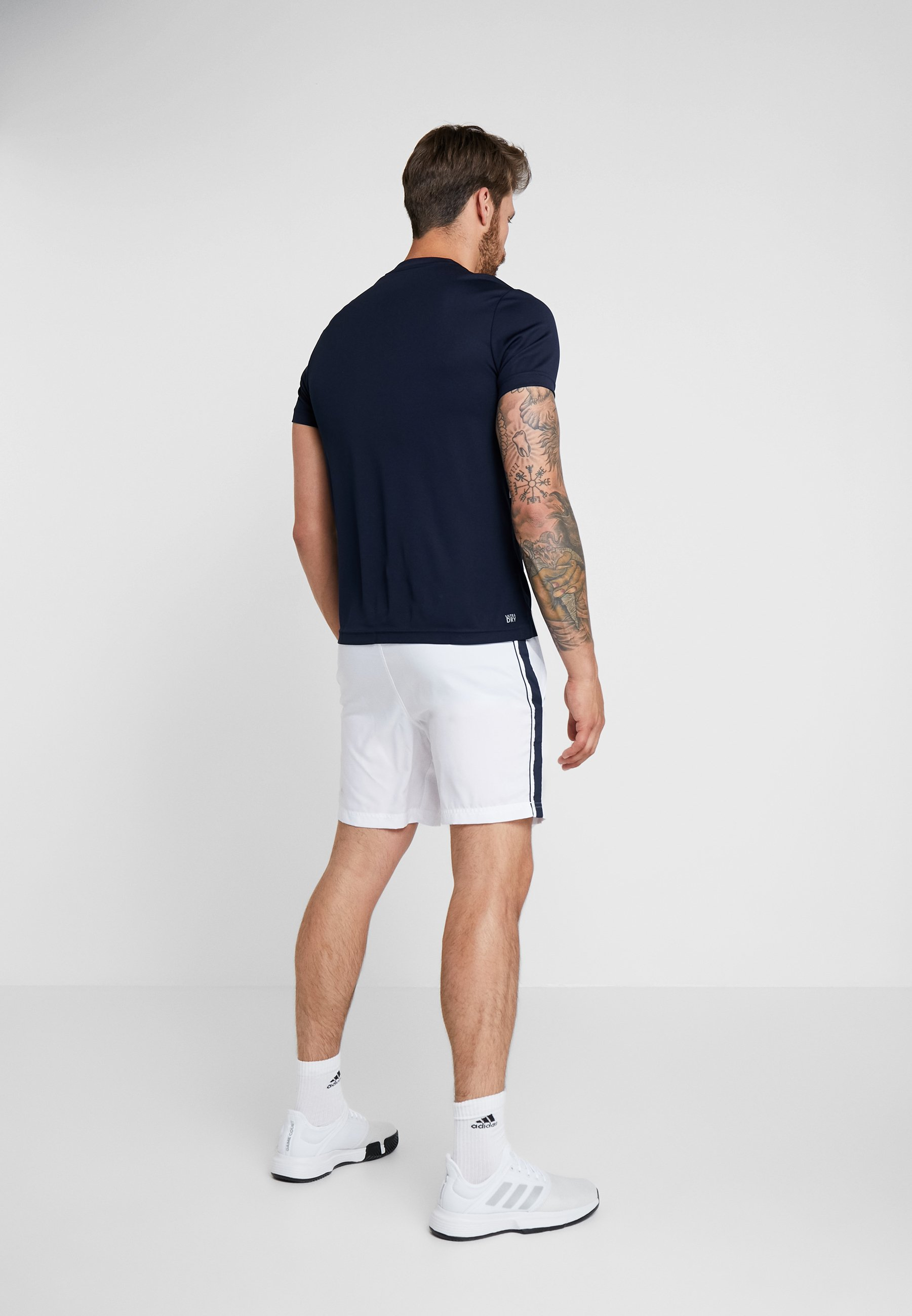 ocean Sport white Lacoste TennisT Imprimé Blue Navy shirt Nvmnw08