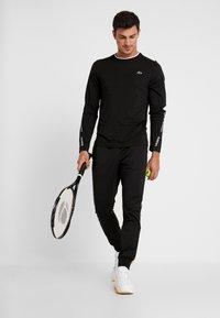 Lacoste Sport - Funktionsshirt - black/white - 1