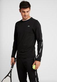 Lacoste Sport - Funktionsshirt - black/white - 0