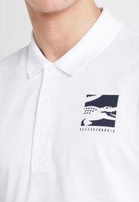 Lacoste Sport - DJOKOVIC - Polo - white/navy blue - 3