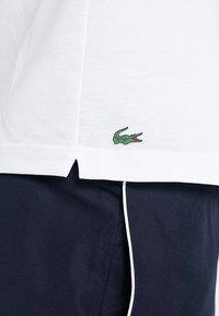 Lacoste Sport - DJOKOVIC - Polo - white/navy blue - 5