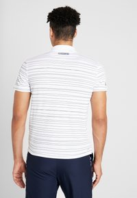 Lacoste Sport - Camiseta de deporte - white/navy blue - 2