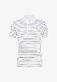 Lacoste Sport - Camiseta de deporte - white/navy blue - 5