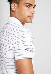 Lacoste Sport - Camiseta de deporte - white/navy blue - 4