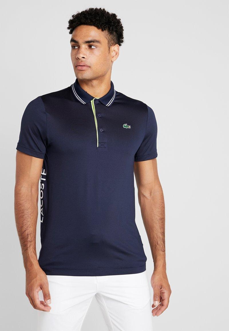 Lacoste Sport - Sports shirt - navy blue/onagre white