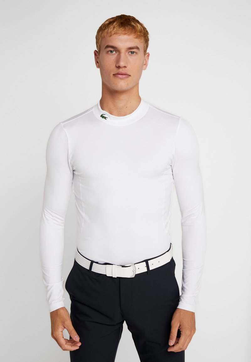 Lacoste Sport - UNDERLAYER - Sports shirt - white