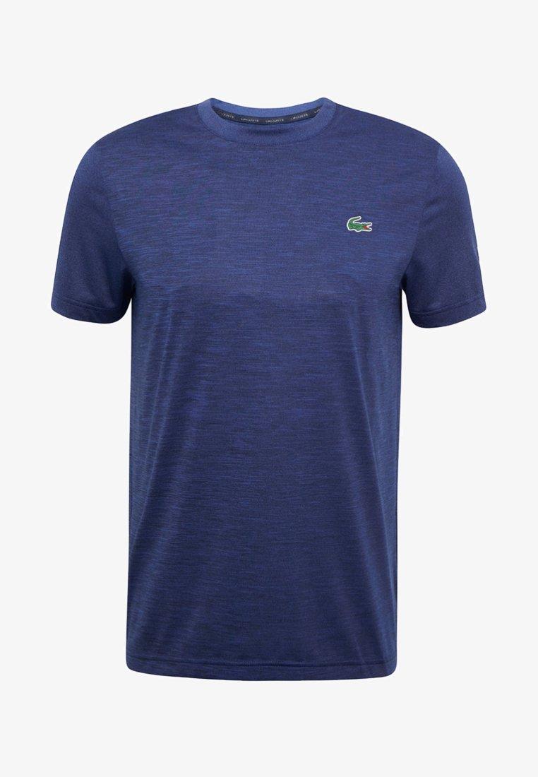 Lacoste Sport - NOVAK DJOKOVIC OFF COURT - Print T-shirt - navy blue