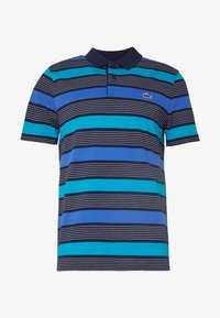 Lacoste Sport - Polo shirt - navy blue/obscurity cuba white - 3