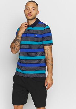 Polo shirt - navy blue/obscurity cuba white