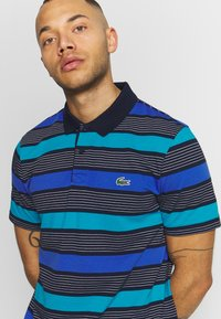 Lacoste Sport - Polo shirt - navy blue/obscurity cuba white - 4