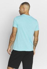 Lacoste Sport - LOGO  - Print T-shirt - haiti blue/cuba - 2