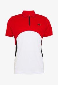 Lacoste Sport - Polo shirt - corrida/white/black - 3