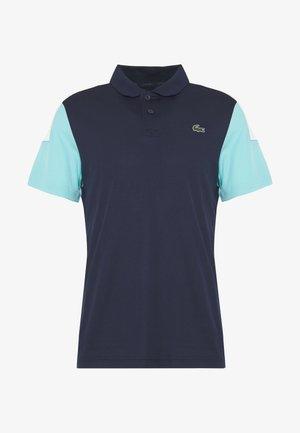 TENNIS - Sports shirt - navy blue/haiti blue/white