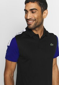 Lacoste Sport - TENNIS - Sports shirt - black/cosmic white - 3