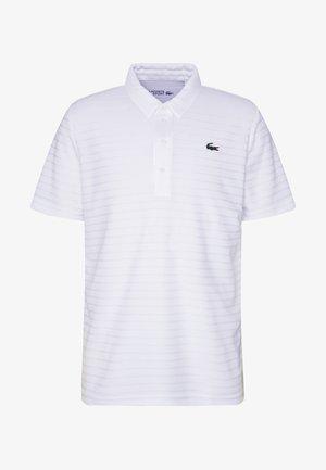 STRIPE - T-shirt de sport - white