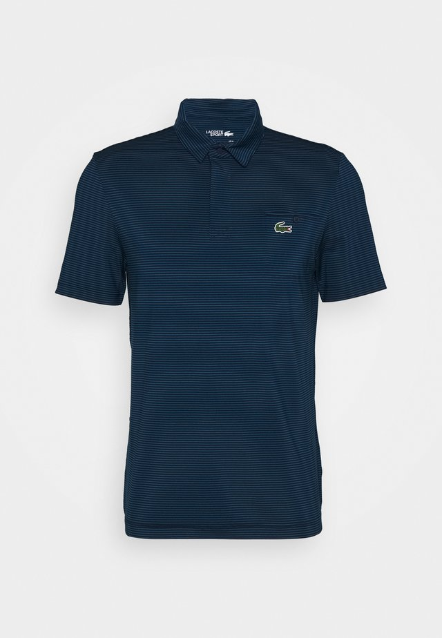 STRIPE - T-shirt de sport - navy blue/mariner