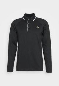 Lacoste Sport - T-shirt de sport - black/white - 4