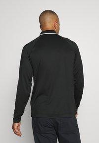 Lacoste Sport - T-shirt de sport - black/white - 2