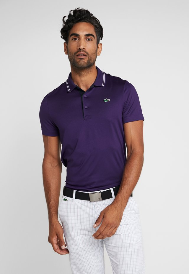 Polo shirt - tanzanite
