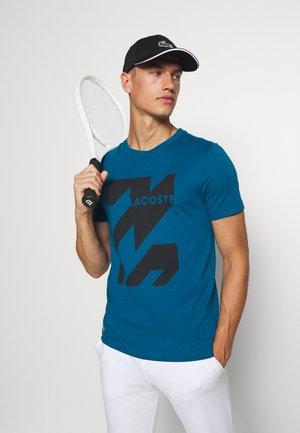 GRAPHIC - T-shirt imprimé - enluminure/noir
