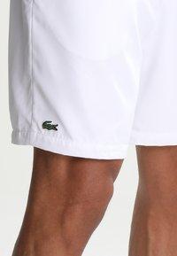 Lacoste Sport - HERREN SHORT - kurze Sporthose - white - 3