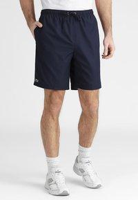 Lacoste Sport - HERREN SHORT - kurze Sporthose - navy blue - 0