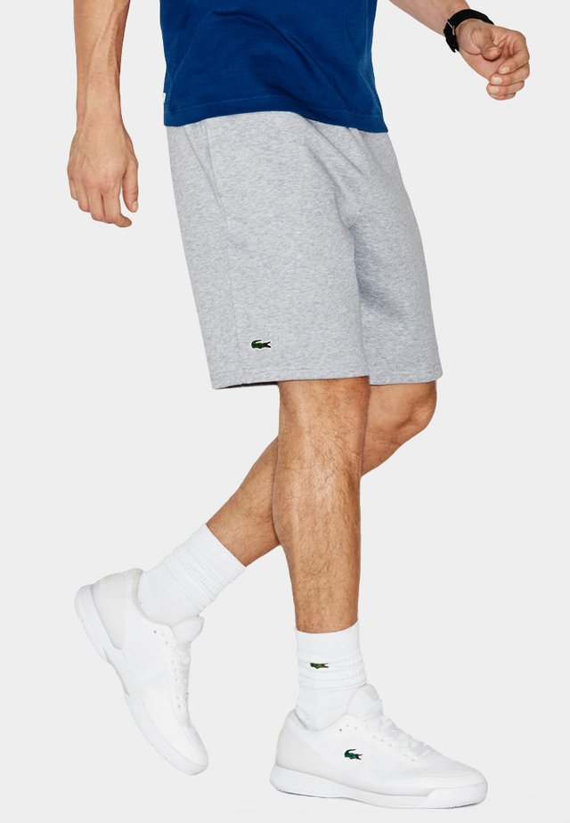 MEN TENNIS SHORT - kurze Sporthose - argent chine