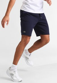 Lacoste Sport - MEN TENNIS SHORT - kurze Sporthose - navy blue - 0