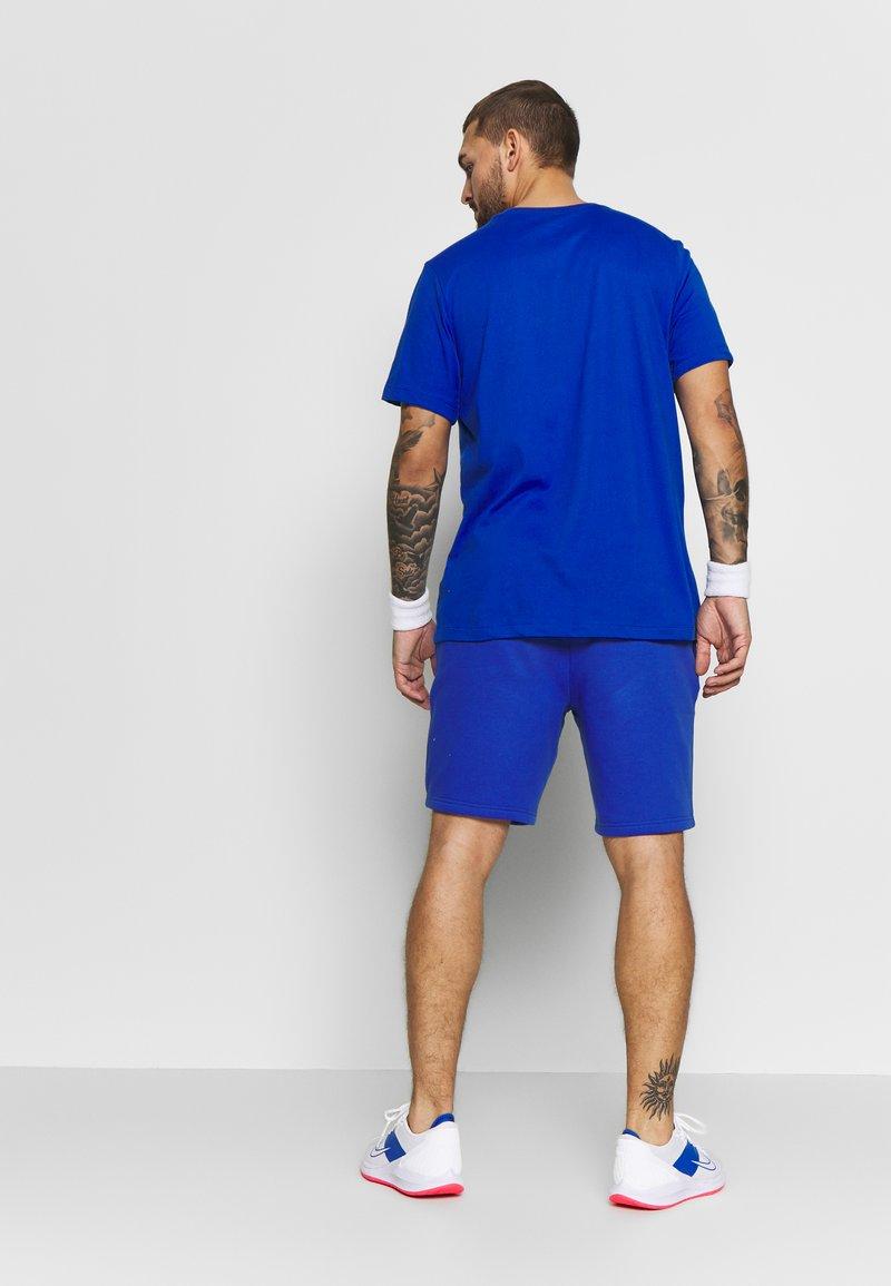 Lacoste Sport - MEN TENNIS SHORT - Krótkie spodenki sportowe - blue