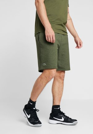 MEN TENNIS SHORT - Short de sport - olive