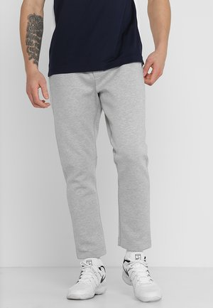 TRACKPANT - Tracksuit bottoms - silver chine/black