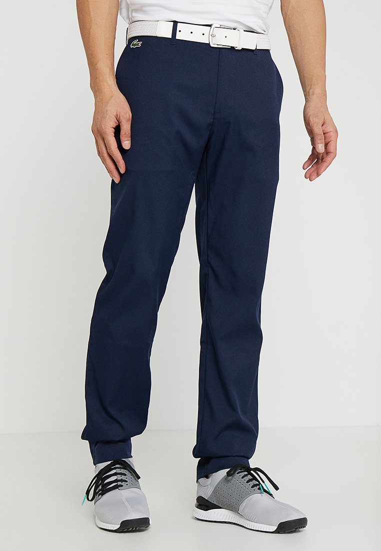 Lacoste Sport - GOLF - Chinos - navy blue