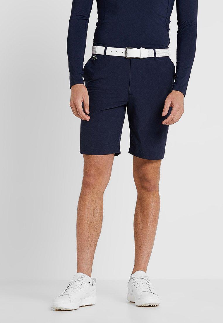 Lacoste Sport - GOLF BERMUDA SHORT - Pantalón corto de deporte - navy blue