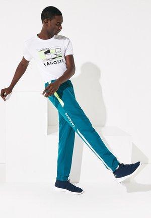 PANT - Pantalon de survêtement - blue/neon yellow/white