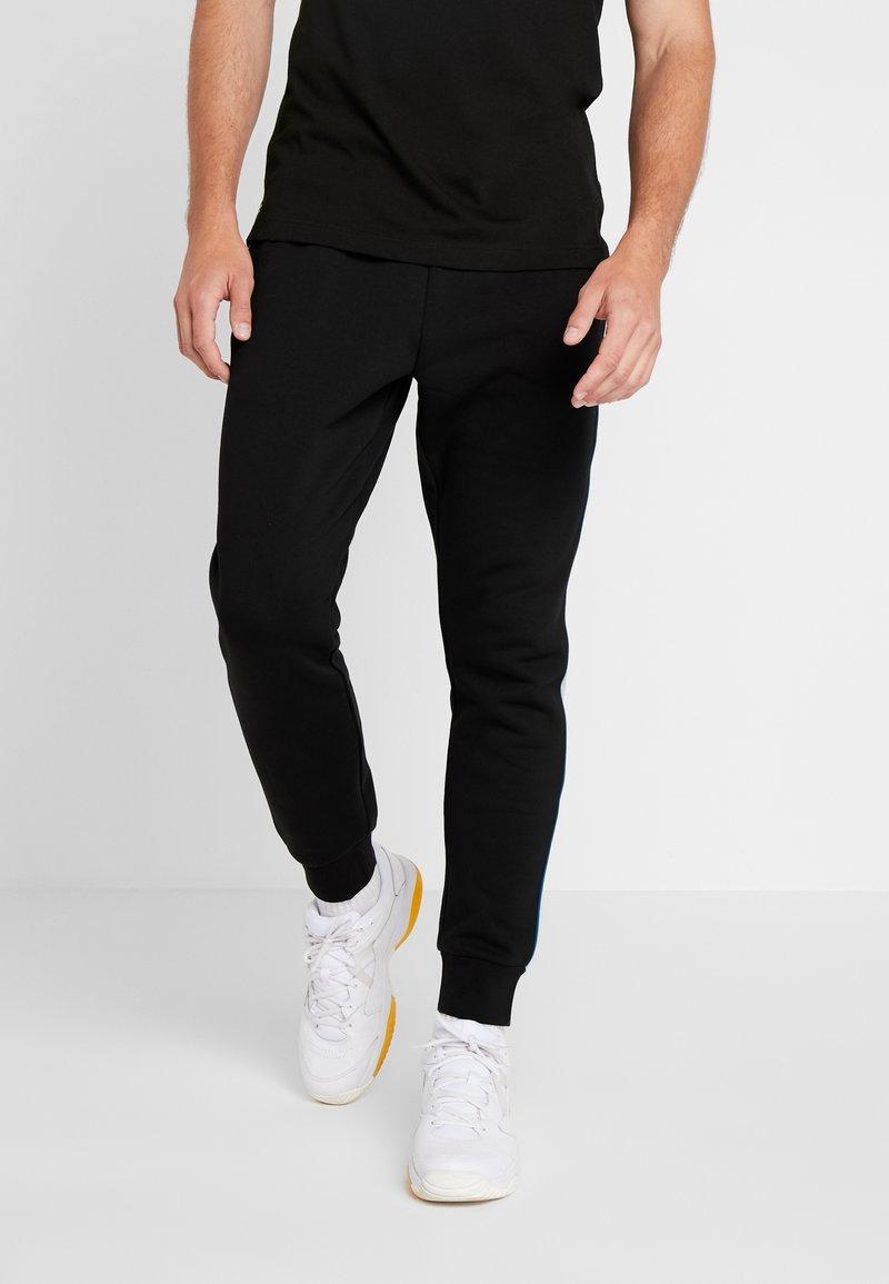 Lacoste Sport - Teplákové kalhoty - black/silver
