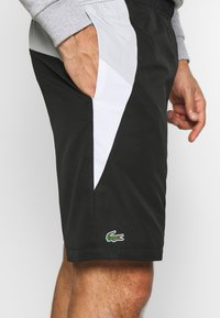 Lacoste Sport - TENNIS - Sports shorts - black/calluna/white - 4