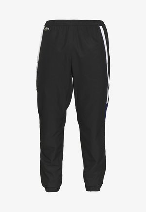 TENNIS PANT - Tracksuit bottoms - black/white/cosmic