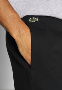 Lacoste Sport - Sports shorts - black/white - 4