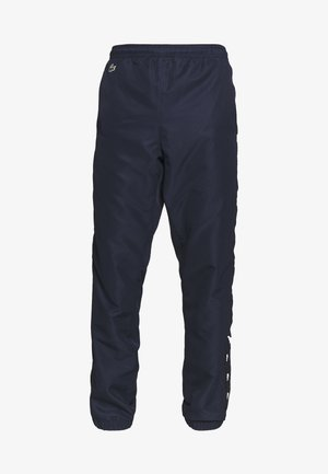 TENNIS PANT TAPERED - Joggebukse - navy blue/black
