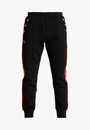 PANT TAPERED - Pantalon de survêtement - black/corrida