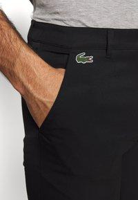 Lacoste Sport - CHINO PANT WATERPROOF - Kalhoty - black - 5