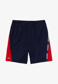 Lacoste Sport - Shorts - navy blue/red/white - 4