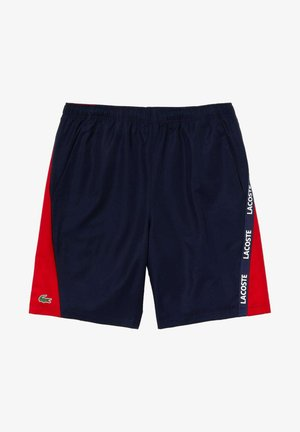 Shorts - navy blue/red/white