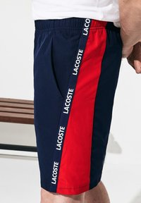 Lacoste Sport - Shorts - navy blue/red/white - 2