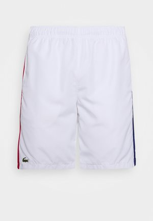Sports shorts - white/red/cosmic black