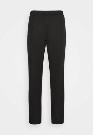 TENNIS PANT - Spodnie treningowe - black/cosmic white
