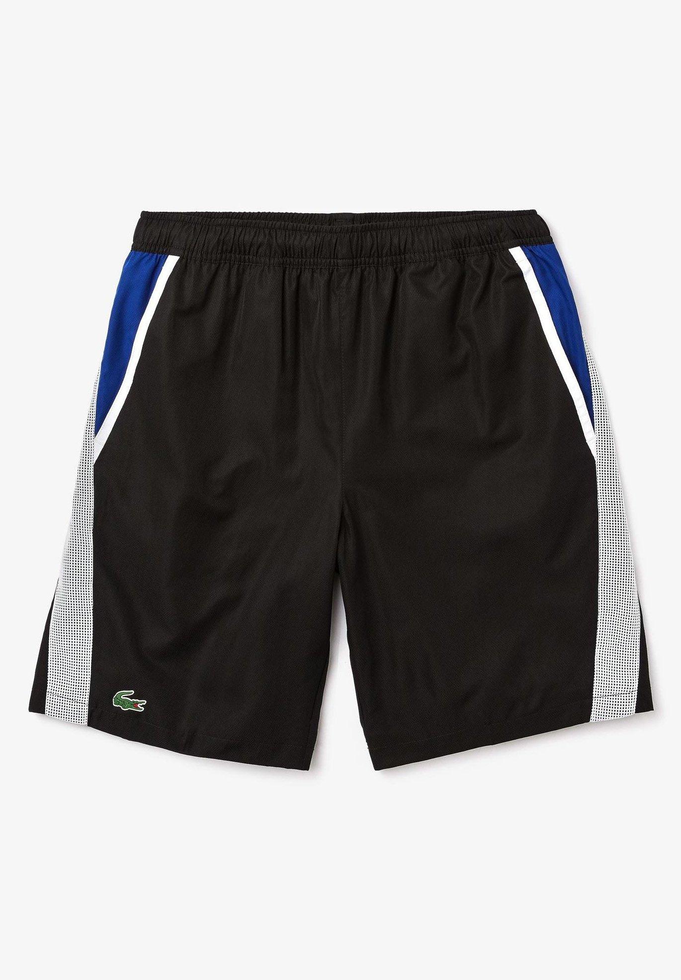 GH4764 Short de sport noir blanc bleu