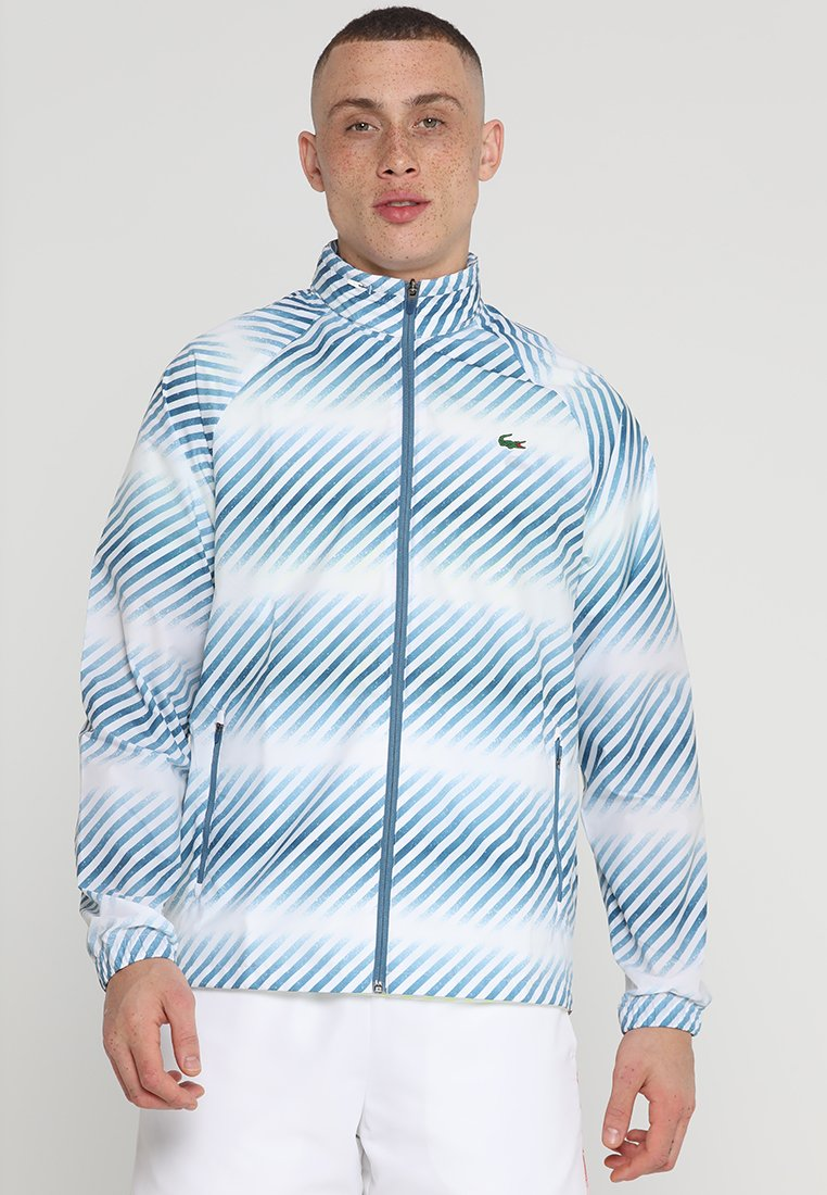 Lacoste Sport - BLOUSON - Trainingsjacke - white/neottia/limeira