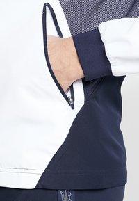 Lacoste Sport - TENNIS JACKET DJOKOVIC - Träningsjacka - white/navy blue - 5