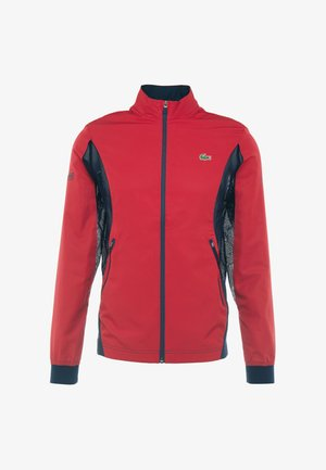 TENNIS JACKET DJOKOVIC - Training jacket - tokyo red/navy blue